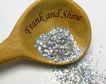 Silvery Holo Glitter Mix Solvent Resistant Holo Glitter Mix