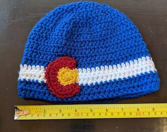 Adult sized Colorado logo hat