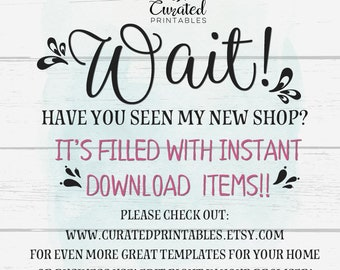 Business Cards, Instant Download, DIY Business Card, Editable Business Cards, Editable Templates, DIY Postcards, Curated Printables