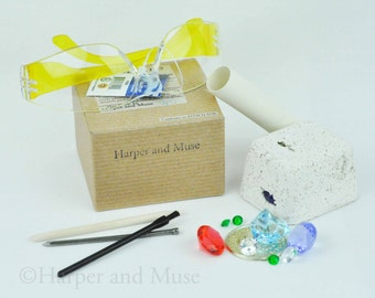 Medium Treasure Dig, Optional Safety Glasses by Harper and Muse
