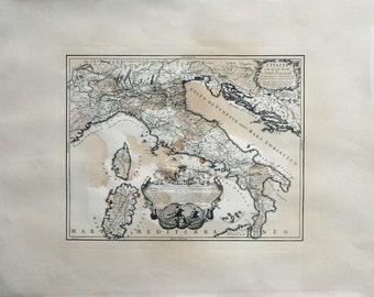 Italia  - 1695 - Cm. 80 x 60 Inches 31,4 x 23,6 - Large format