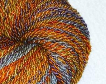 Pueblo Bonito Art Yarn - 201 yards - 2 Ply - Handspun - Knitting - Crochet - Weaving - Mixed Media - Fiber Arts - Textile Arts, etc.