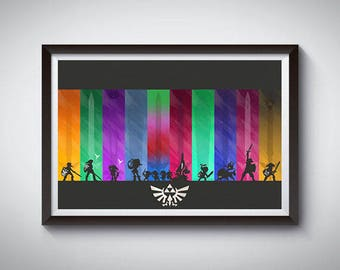 Video Game Poster, Art Print, Video Game Wall Decor 2