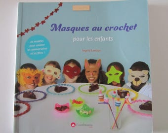 """Book """"masks crochet for children"""" - 29 designs for birthdays and holidays"""