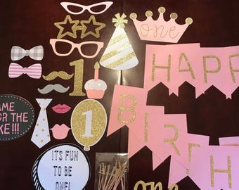 First birthday party decoration package!