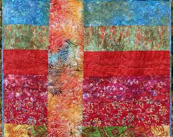 Batik Quilt  52x76