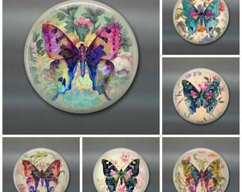 "3.5"" bohemian room decor,  butterfly art kitchen decor, bohemian decoration, bohemian home decor, boho gift for guest, boho butterfly decor"