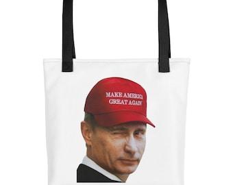 Make America Great Again Putin?! Tote bag
