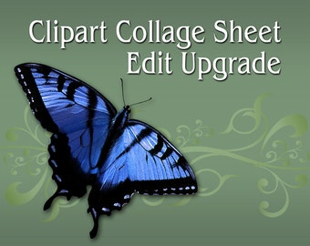 Clipart Collage Sheet Edit Upgrade