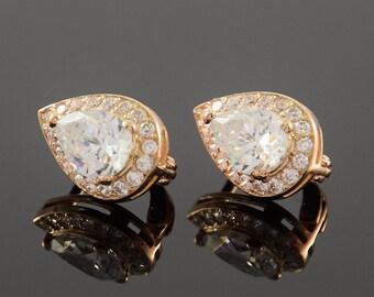 Victorian earrings, Halo earrings, Antique earrings, White stone earrings, Geometric earrings, Unique earrings, Everyday earrings