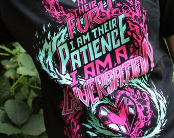 Steven Universe T-Shirt | I am a Conversation | Ruby & Sapphire | Stronger Than You | Garnet Fusion Shirt in Black