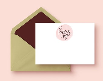 Personalized Card Set | 12 card set