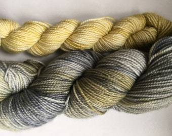 "Seren gold sock set  in ""grellow2"""