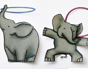 Hooper Elephant Sticker