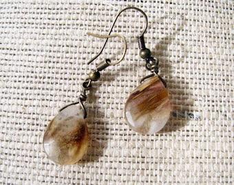 Lagrimas de la Montana Quartz Earrings (The Mountain's Tears)