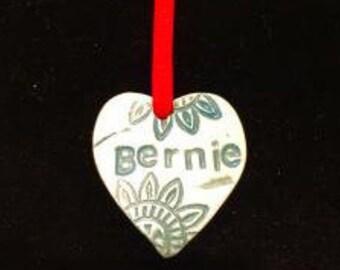 Bernie Ornament