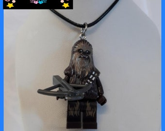 Star Wars 'Chewbacca' Mini Fig Toy Necklace