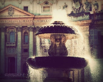Rome photograph, fine art photography, Italy photo, Rome art print, romantic, Vatican, home decor - Sparkle