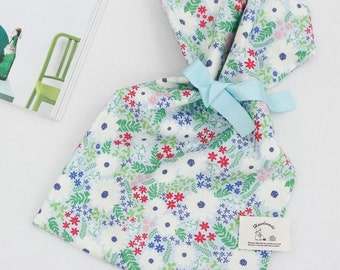 Flower garden, Cotton 100% fabric, by Yard, DTP printing