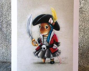 Ahoy, Matey! 5x7 Print