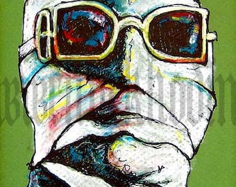 "Print 8x10"" - The Invisible Man - Sci Fi Horror Classic"