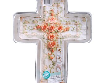 Cross 14.5'X1.125'X2' Cake Pan -Wilton