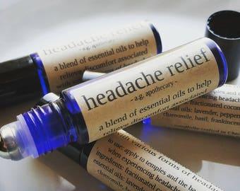 Headache Relief Aromatherapy