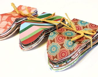 Assorted Tiny Envelopes, Mini Handmade Decorative Envelopes, Gift Enclosure Patterned Paper Pouches, Tooth Fairy Envelopes  itsyourcountry