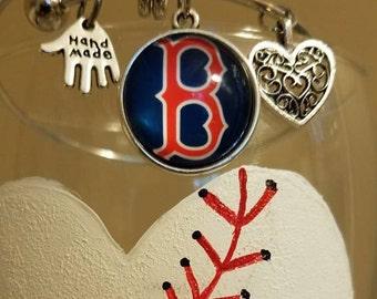 Boston Red Sox Bangle Bracelet
