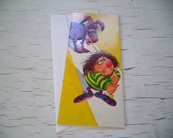 Vintage Roth Cards Get Well Card