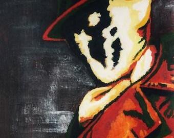 Rorschach Watchmen A3 print of original artwork