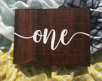 Wooden Table Numbers, Wedding Decor, Table Numbers, Wedding Table Numbers, Table Decor, Rustic Table Numbers, Wedding Reception Decor, V1LG