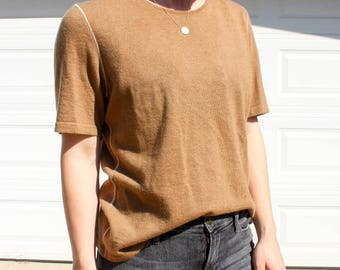 Vintage Chanel Cashmere Shirt