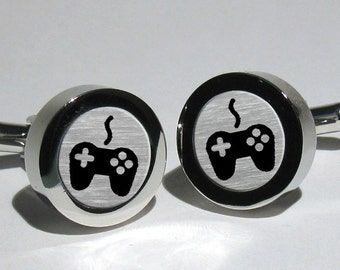 Video Game Cufflinks,Joy Stick cufflinks,Geek Gift for men,Game cufflinks,Grooms Gift,Valentines Gift,Nerd gift for men,Geek gift idea