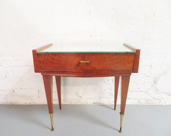 Mid-century rosewood side table / nightstand