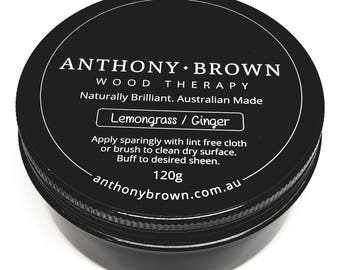Anthony Brown - Beeswax Furniture Polish Therapy Lemongrass/Ginger