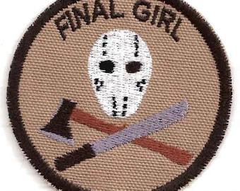 Final Girl Geek Merit Badge Patch