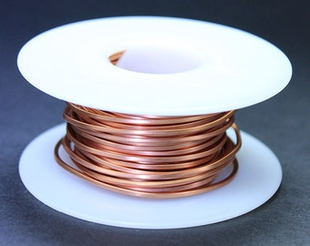 Copper Square Wire 16ga 1.30mm Soft (Approx. 23.7ft)  (CSW16)