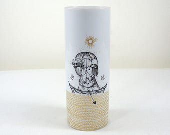 "Rosenthal Porcelain Vase ""Lovers""-Raymond Peynet"