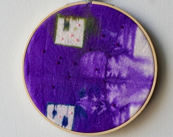 A Visual Guide to Violence Against Women in Canada (Series), Embroidery