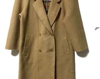 Berberry Outwear wool coat double breasted
