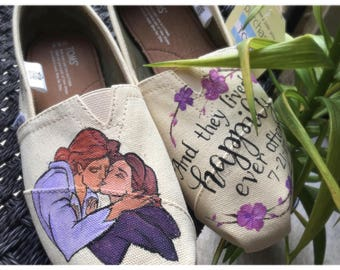Disney Toms- Wedding Toms- Happily Ever After