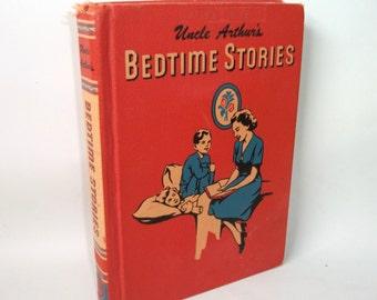 1951 Uncle Arthur's Bedtime Stories Vintage Book