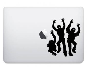 Zombie Computer Decal