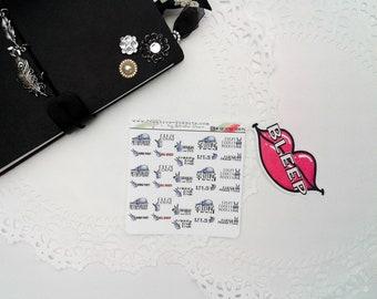 Alternative Cuss Word Stickers - Snarky Planner Stickers - Planner Stickers - Stickers - Funny Stickers