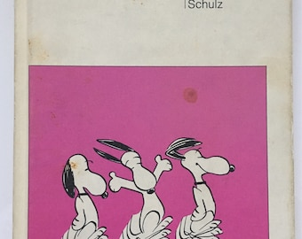 """Vintage 1958 """"Snoopy"""" a Peanuts Book by Charles M. Schulz Collectible Book"""