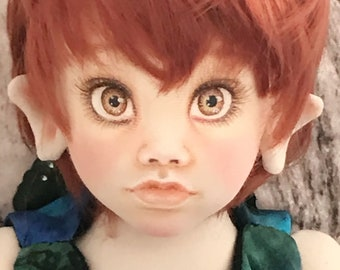 Pixie Doll - 40cm face painted BJCD