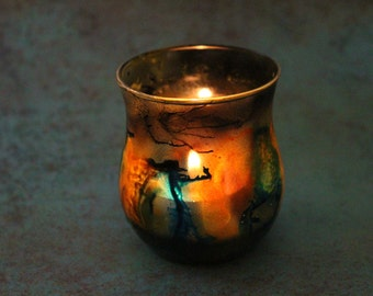Tree Secret Colors Galaxy Candle Holder