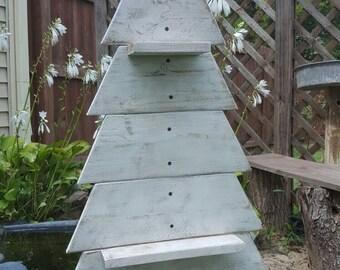 Shabby Chic Rustic Christmas Tree