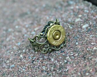Annie Get Your Gun Spent Gun Bullet Shell Adjustable Ring